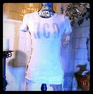 Hollister California Women's Sexy HCO T-shirt XS